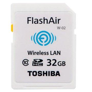 TOSHIBA 東芝WiFi 相機卡(SDHC 32G CL10)