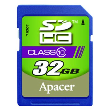 Apacer 宇瞻 SDHC 32G CL10記憶卡
