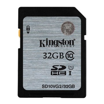 Kingston 金士頓SDHC 32G U1 C10 記憶卡