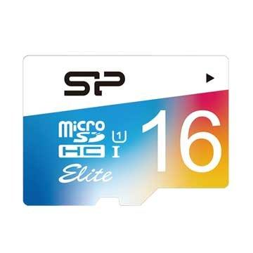 SILICON POWER Elite Micro 16G UHS-I 高速記憶卡