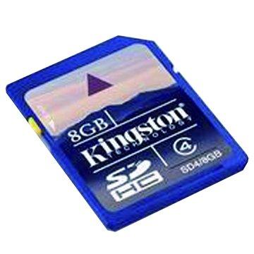 Kingston 金士頓 SDHC 8G CL4記憶卡