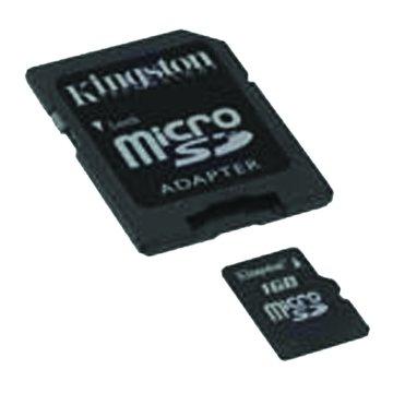 Kingston 金士頓 Micro 2G附轉卡記憶卡