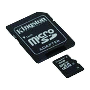 Kingston 金士頓 Micro 4G CL4附轉卡記憶卡