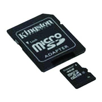 Kingston 金士頓 Micro 8G CL4附轉卡記憶卡