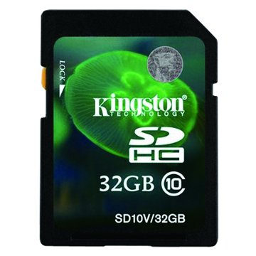 Kingston 金士頓 SDHC 32G CL10 記憶卡