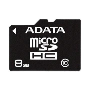 ADATA 威剛 Micro 8G CL4附轉卡記憶卡
