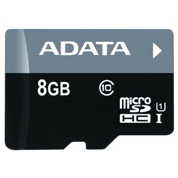 ADATA 威剛 Premier Micro 8G UHS-I附轉卡記憶卡