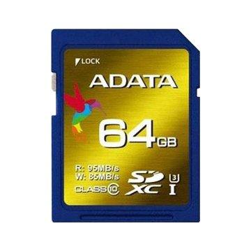 ADATA 威剛 XPG SDXC UHS-I U3 64G記憶卡