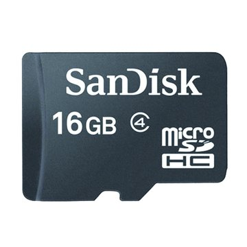 SANDISK Micro 16G CL4記憶卡