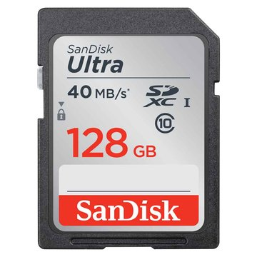 SANDISK Ultra SDXC 128G C10 U1(讀40MB/s)