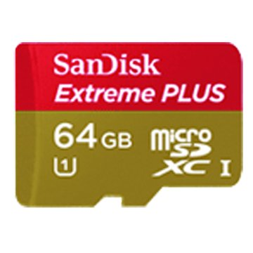 SANDISK Extreme Micro PLUS SDXC 64G 附轉卡記憶卡