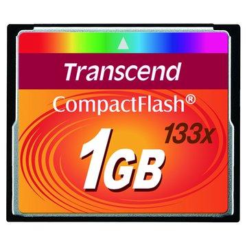Transcend 創見 CF 1G(133X)記憶卡