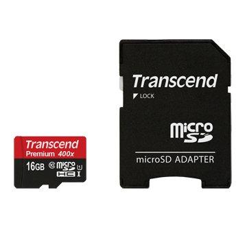 Transcend 創見 Micro 16G UHS-I 記憶卡