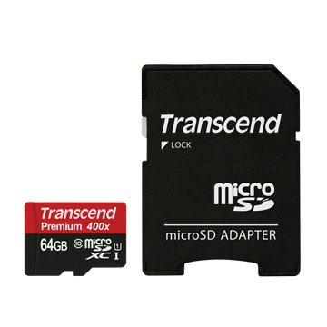 Transcend 創見Micro SDXC 64G UHS-I 記憶卡