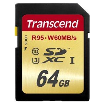 Transcend 創見SDXC 64G UHS-I U3 CL10記憶卡