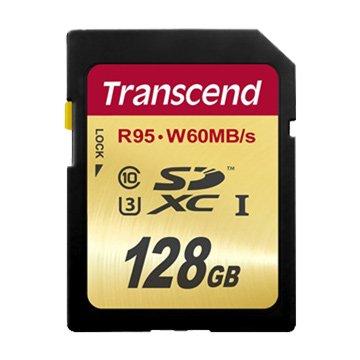 Transcend 創見SDXC 128G UHS-I U3 CL10記憶卡