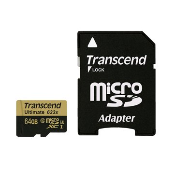 Transcend 創見Micro 64G U3(讀95寫85MB/s)記憶卡