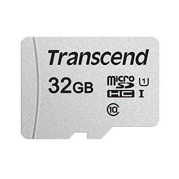 Transcend 300S Micro SDHC 32G UHS-I U1記憶卡(附轉卡)
