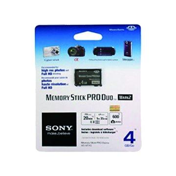 SONY 新力牌 Memory Stick PRO DUO 4G 記憶卡