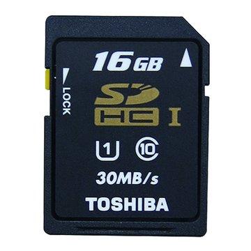 TOSHIBA 東芝 SDHC 16G UHS-I CL10(30MB/s)記憶卡