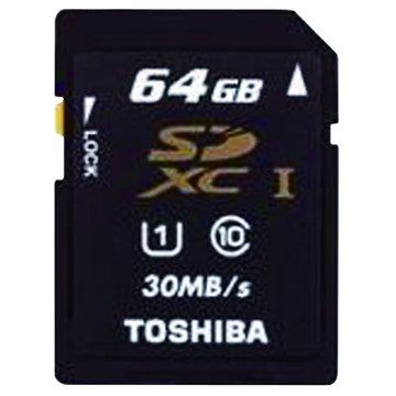 TOSHIBA 東芝 SDXC 64G UHS-I CL10(30MB\