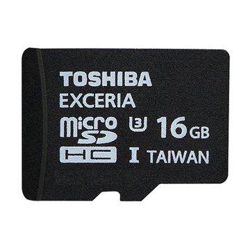 TOSHIBA 東芝EXCERIA Micro 16G U3(讀95/寫60MB/s)記憶卡