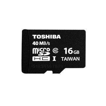 TOSHIBA 東芝 Micro 16G UHS-I(讀40MB/s)記憶卡