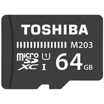 TOSHIBA Micro SDHC 64G U1記憶卡(讀100Mb