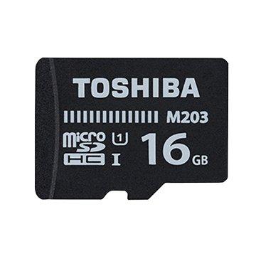 TOSHIBA 東芝 Micro SDHC 16G U1記憶卡(讀100Mb/s)