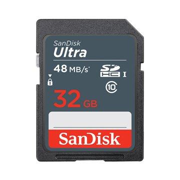 SANDISK Ultra SDHC 32G C10 U1(讀48MB/s)