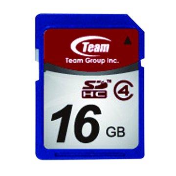 team 十銓 SDHC 16G CL4記憶卡