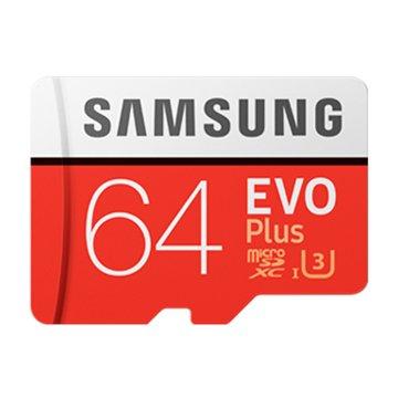 SAMSUNG EVO Plus Micro SDXC 64G UHS-I U3 C10
