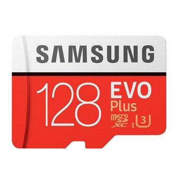 SAMSUNG EVO Plus Micro SDXC 128G UHS-I U3 C10(讀/寫100MB/s / 90MB/s)