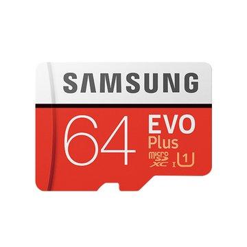 SAMSUNG 三星 EVO Plus microSDXC 64G U1記憶卡