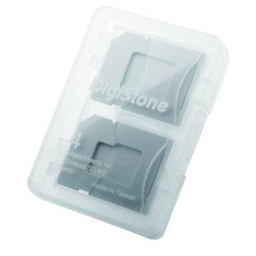 4片裝記憶卡多功能收納盒(不限色)
