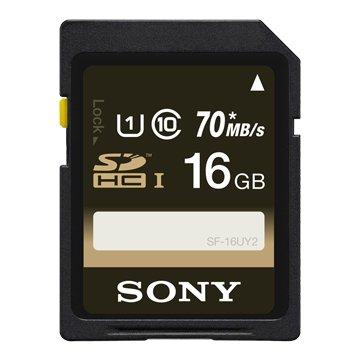 SONY 新力牌SF-16UY2 (U1/R70/16G)記憶卡
