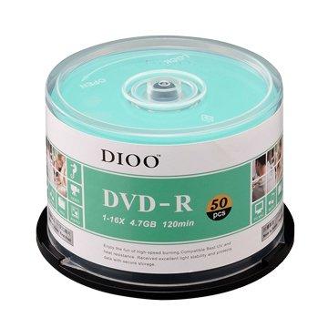 E-books DIOO 海洋版 16X DVD-R/4.7G50片+布丁桶