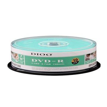 E-books DIOO 海洋版 16X DVD-R/4.7G10片+布丁桶