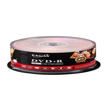E-books  國際版 16X DVD+R/4.7G10片+布丁桶