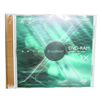 RITEK 錸德 3X DVD-RAM/4.7G單片