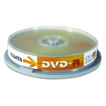 RIDATA 錸德 RIDATA16XDVD+R/4.7G10片+原廠布丁桶