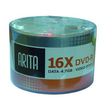 ARITA 錸德  16X DVD-R/4.7G50片