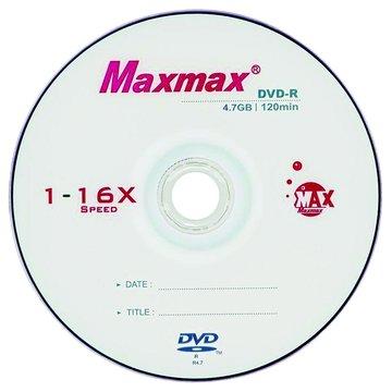 MAXMAX 邁擴 小魚16X DVD-R/4.7G10片+布丁桶