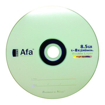 AFA  8X DVD+R DL/8.5G25片+布丁桶
