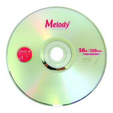 Melody 美樂蒂 16X DVD-R/4.7G25片+布丁桶