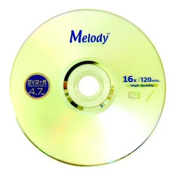 Melody 美樂蒂 16X DVD+R/4.7G25片+布丁桶