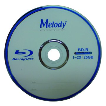 Melody 美樂蒂 藍光2X BD-R/25G 135min10片布丁桶
