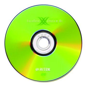 RITEK 錸德 16X DVD-R/4.7G50片