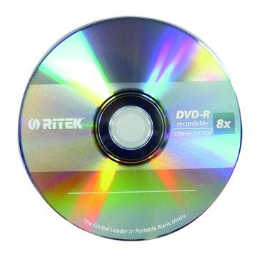 RITEK 錸德 運動8X DVD-R/4.7G50片