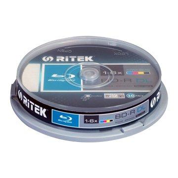 RITEK 錸德藍光可印6X BD-R DL/50G10片
